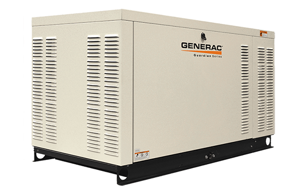 Generac 30kw standby generator (Guardian Series).